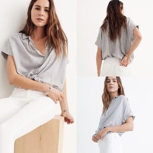 Madewell / Central Shirt in Gabriel Stripe